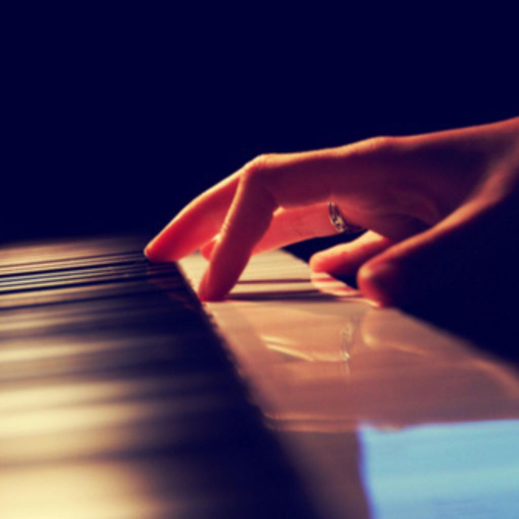 舞蹈钢琴意境图片唯美