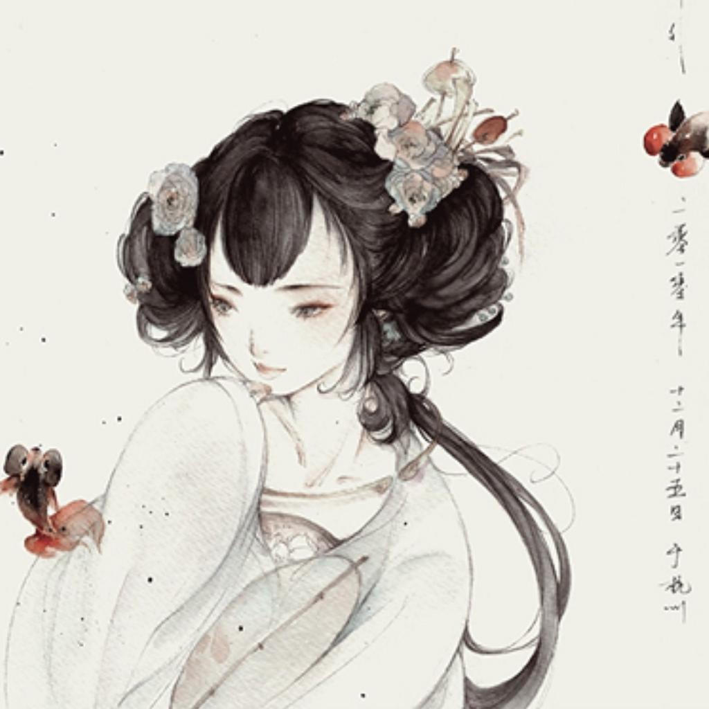 手绘古风美男:轻薄儿,面如玉,紫陌春风缠马足...
