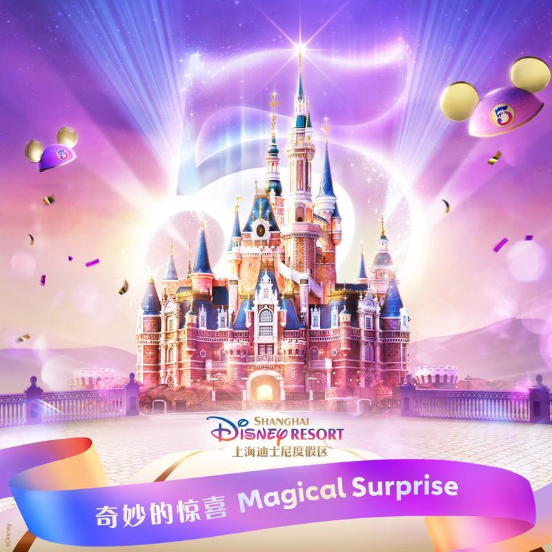 奇妙的惊喜 (上海迪士尼度假区五周年庆主题歌曲)