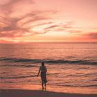 「欧美电子」夕阳余晖下的曼妙时光
