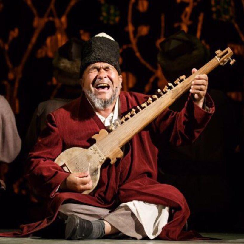 牡丹汗 维吾尔族民歌吉他谱