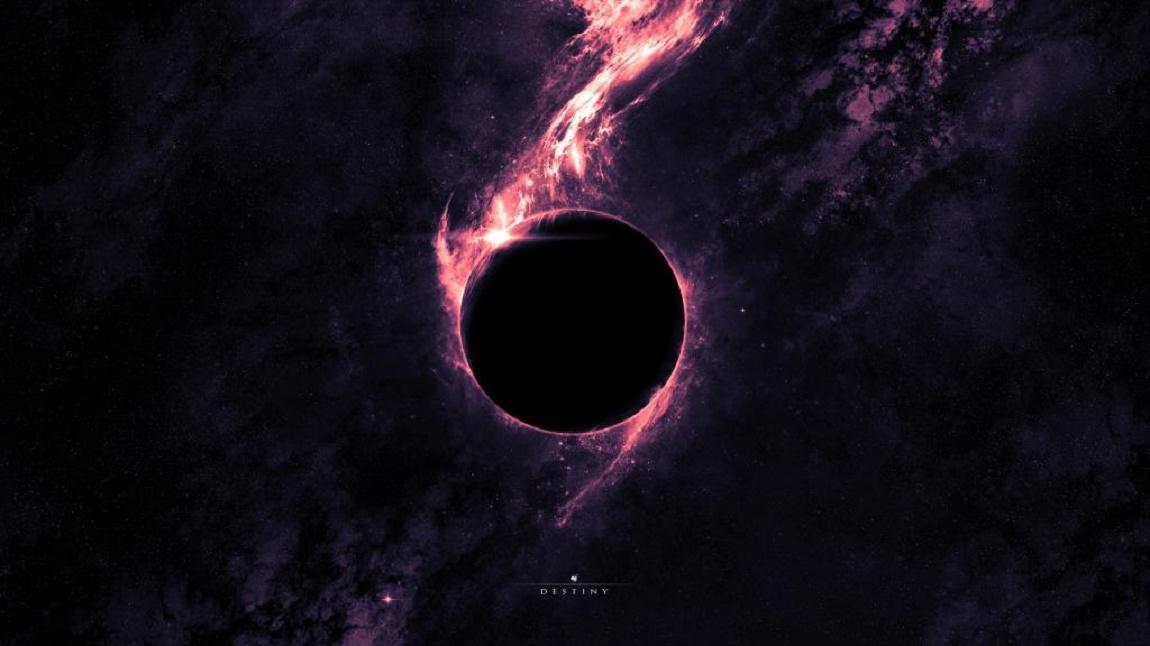 科学家们认为,在看不见的黑洞周围,围绕着一些特定的天体.