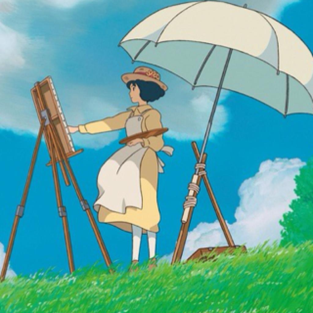 宫崎骏动漫起风了