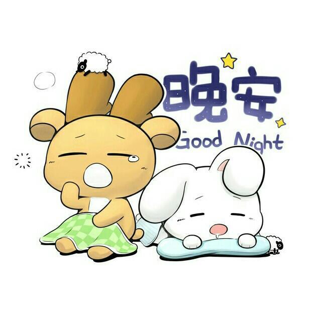 卡通睡不着的图片