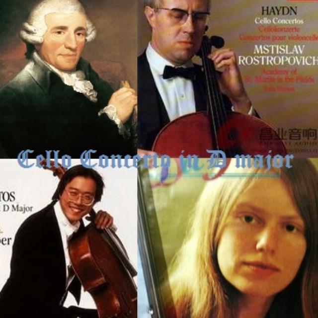 海顿d大调大提琴协奏曲-三个版本