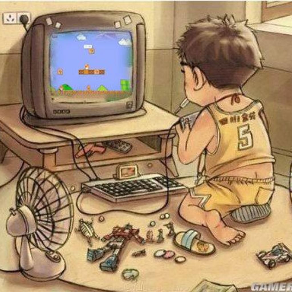 让80后泪奔的童年回忆!
